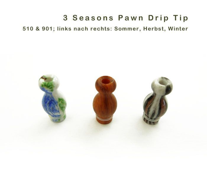 Seasons Pawn Drip Tip, für 510 & 901