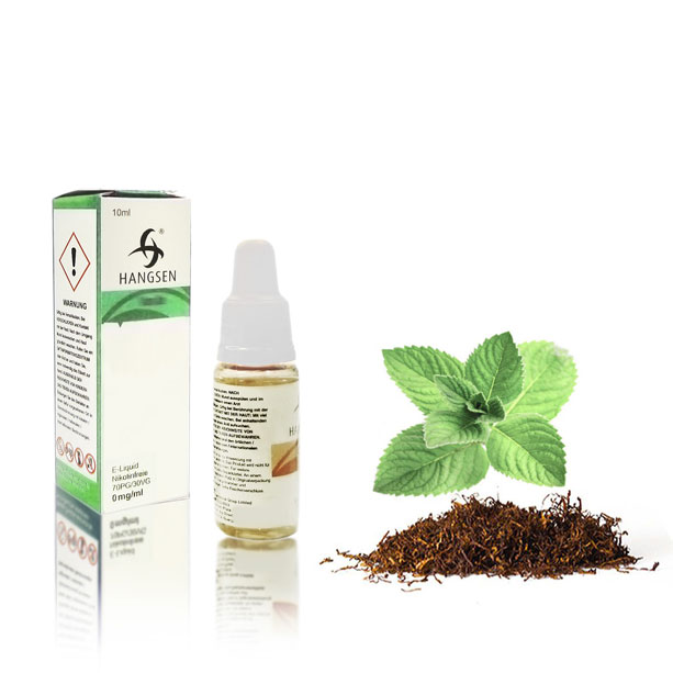 Hangsen Liquid Tabak Mint 10 ml